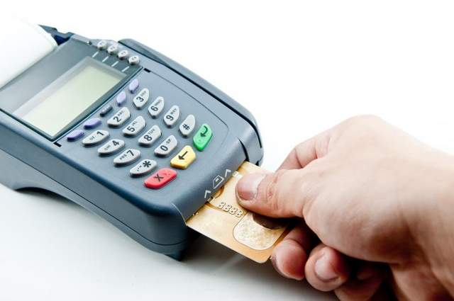 The new PIN credit card reader.